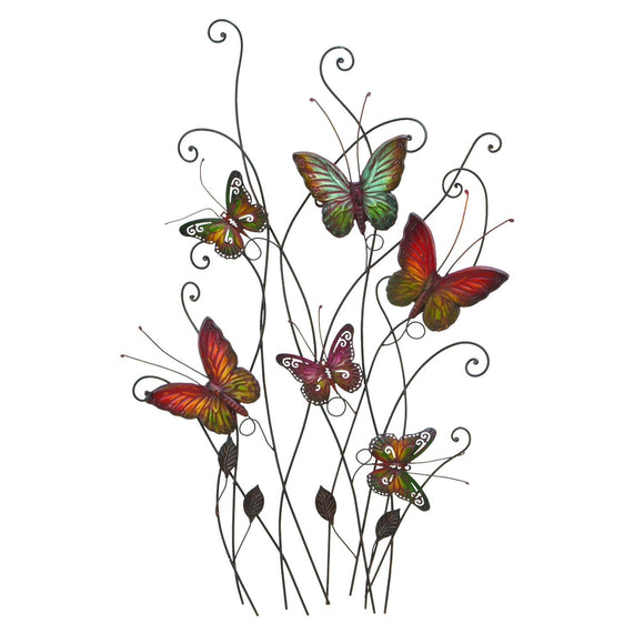 ECLECTIC, BUTTERFLY, METAL WALL DECOR, ANIMALS
