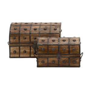 RUSTIC, CHEST, BOXES, WOOD