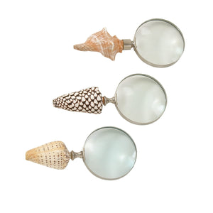 ECLECTIC, MAGNIFYING GLASS, HOME DECOR, COASTAL & NAUTICAL