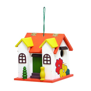 COUNTRY COTTAGE, BIRDHOUSE, GARDEN, BIRDHOUSES