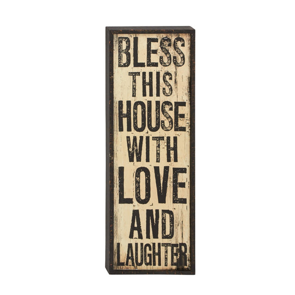 FARMHOUSE, INSPIRATIONAL SIGN, WOOD WALL DECOR, SIGNS & FLAGS