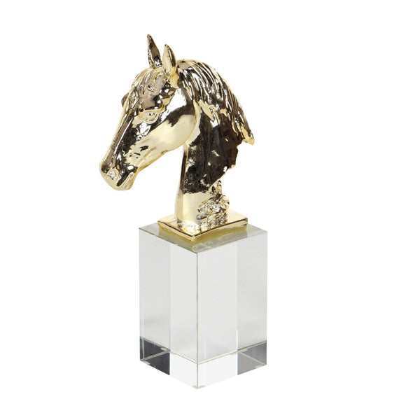 GLAM, GOLD, HORSE, SCULPTURES, ANIMALS
