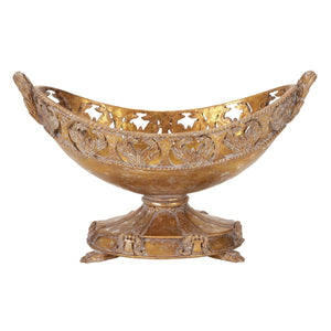 TRADITIONAL, GOLD, FRUIT BOWL, HOME ACCENTS, DECORATIVE BOWLS