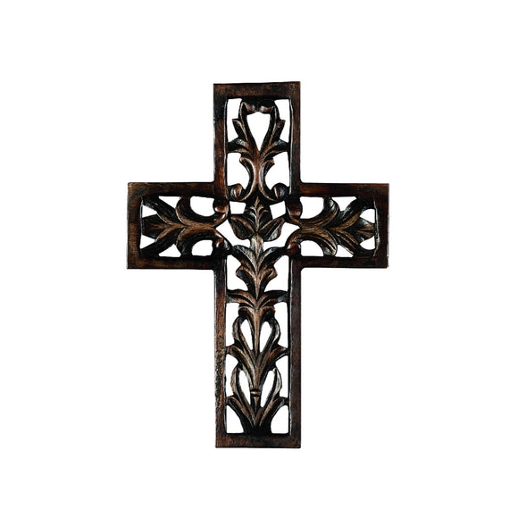 TRADITIONAL, CROSS, WOOD WALL DECOR, INSPIRATIONAL