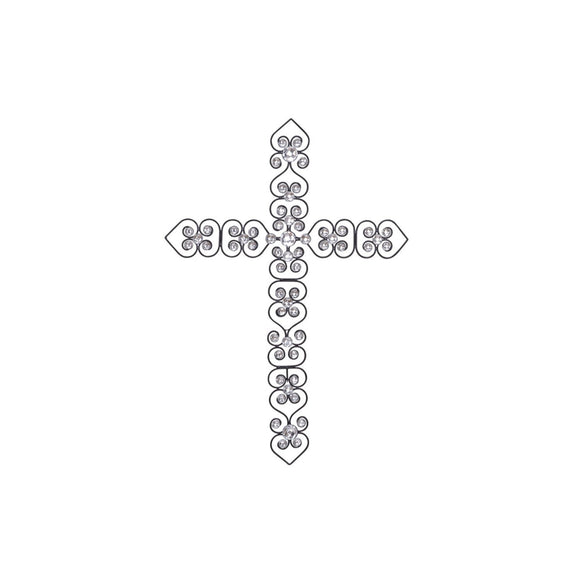 GLAM, CROSS, CRYSTAL, HOME DECOR, CROSSES