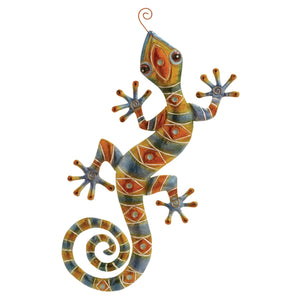 ECLECTIC, LIZARD, METAL WALL DECOR, ANIMALS