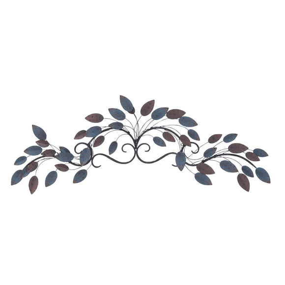 TRADITIONAL, LEAVES, METAL WALL DECOR, FLORAL