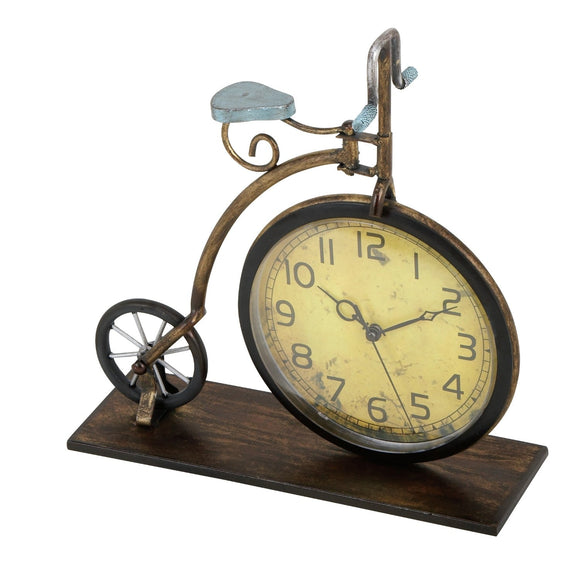 VINTAGE, BICYCLE, CLOCK, HOME DECOR, CLOCKS - TABLETOP