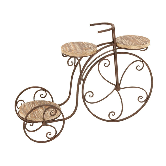 FARMHOUSE, BICYCLE, PLANT STAND, GARDEN, PLANTSTANDS