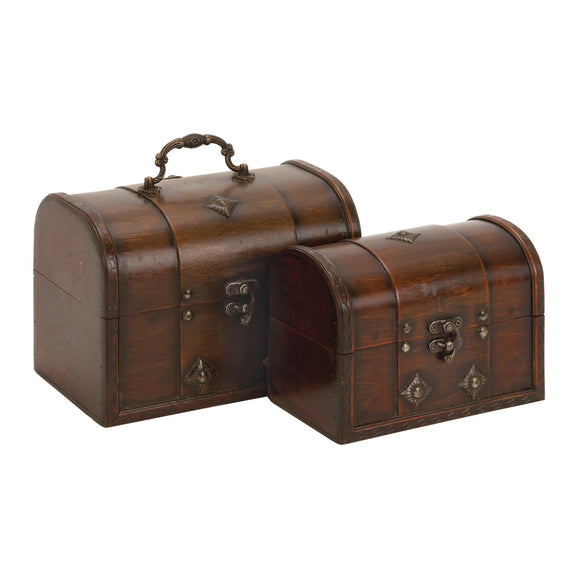 TRADITIONAL, CHEST, BOXES, WOOD