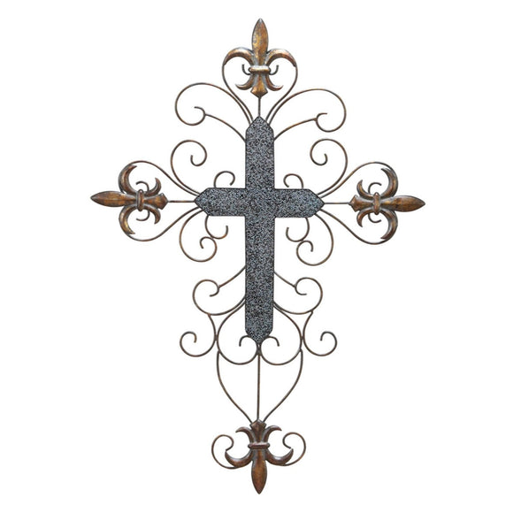 TRADITIONAL, CROSS, FLEUR DE LIS, HOME DECOR, CROSSES