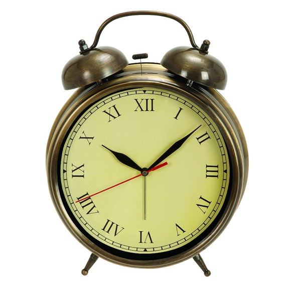 TRADITIONAL, ALARM, CLOCK, HOME DECOR, CLOCKS - TABLETOP
