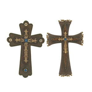 ECLECTIC, CROSS, WESTERN, TURQUOISE, HOME DECOR, CROSSES