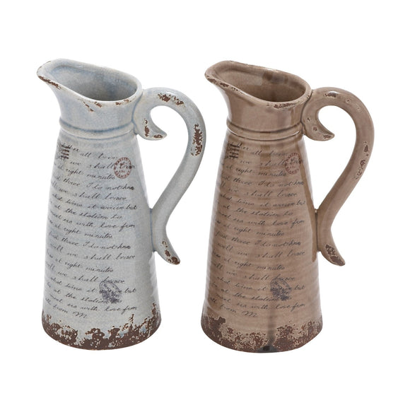 VINTAGE, PITCHER, VASES, CERAMIC
