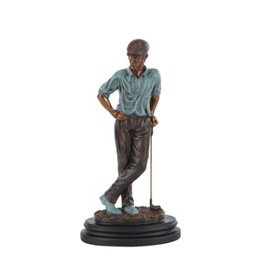 TRADITIONAL, GOLF, SCULPTURES, PEOPLE