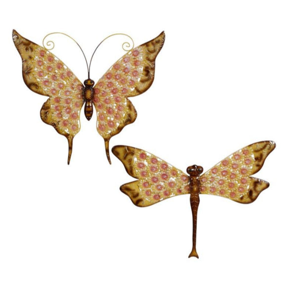 FARMHOUSE, BUTTERFLY, DRAGONFLY, GARDEN, GARDEN SCULPTURES