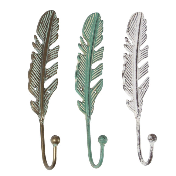 FARMHOUSE, FEATHER, WALL, HOOK, HOME ORGANIZATION, WALL HOOKS
