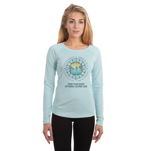 Cooper River Bridge Run Team Compass Women's UPF 50+ Long Sleeve T-shirt