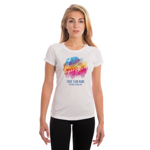 Cooper River Bridge Run Team Running Palmetto Women's UPF 50+ Short Sleeve T-shirt