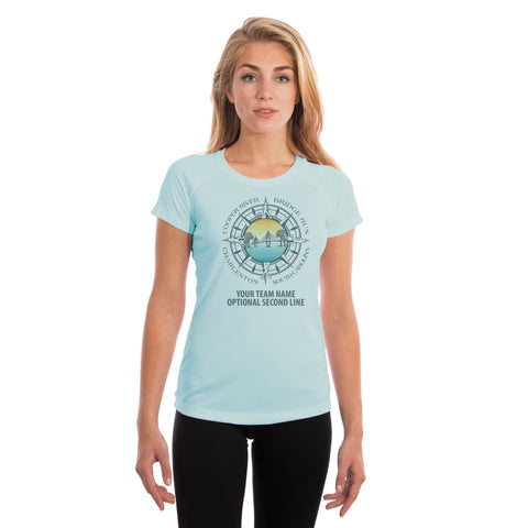 Cooper River Bridge Run Team Compass Women's UPF 50+ Short Sleeve T-shirt