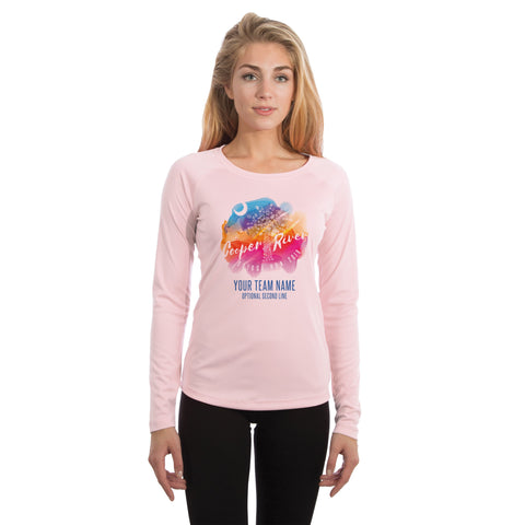 Cooper River Bridge Run Team Running Palmetto Women's UPF 50+ Long Sleeve T-shirt