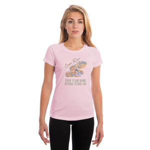 Cooper River Bridge Run Team Charleston Map Women's UPF 50+ Short Sleeve T-shirt