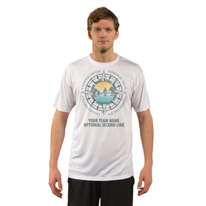 Cooper River Bridge Run Team Compass Men's UPF 50+ Short Sleeve T-Shirt