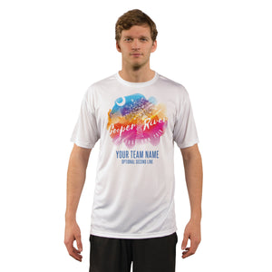 Cooper River Bridge Run Team Running Palmetto Men's UPF 50+ Short Sleeve T-Shirt