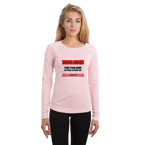 Cooper River Bridge Run Team Race Bib Women's UPF 50+ Long Sleeve T-shirt