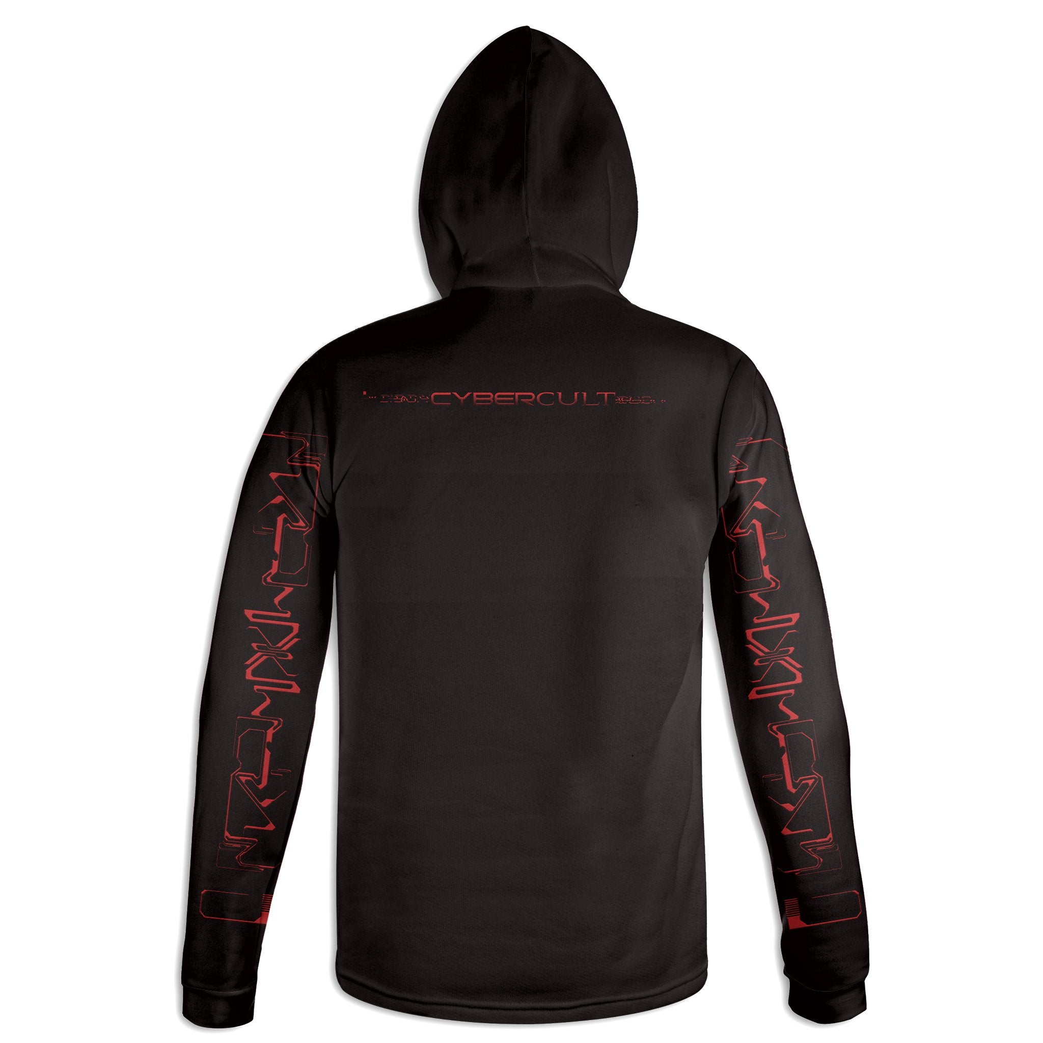Skyward Transmission :: RED Hoodie | Cybercult.net
