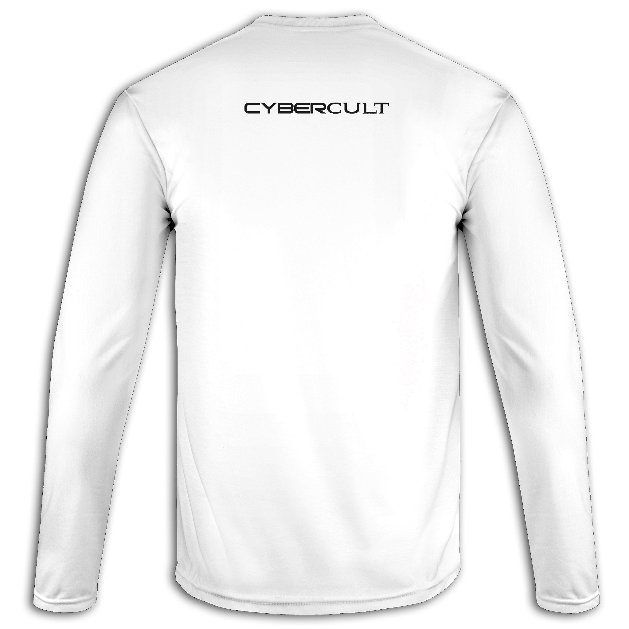 Nested Moon Sigil :: White Long Sleeve Tee | Cybercult.net
