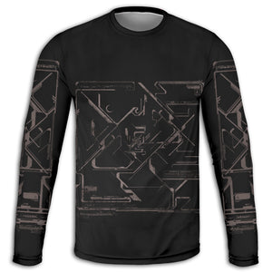 Into Gray Long Sleeve Tee | Cybercult.net
