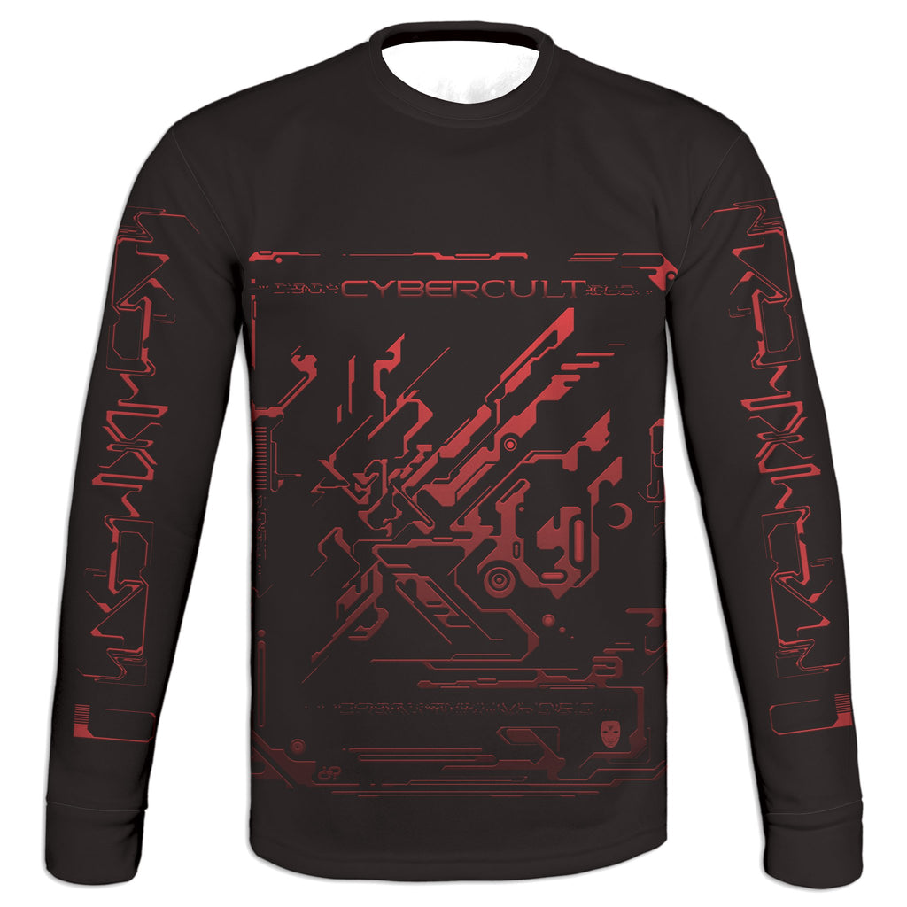 Skyward Transmission :: RED Sweatshirt | Cybercult.net