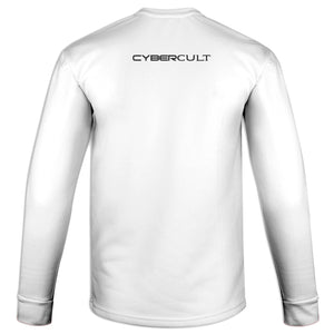 Nested Moon Sigil :: White Sweatshirt | Cybercult.net