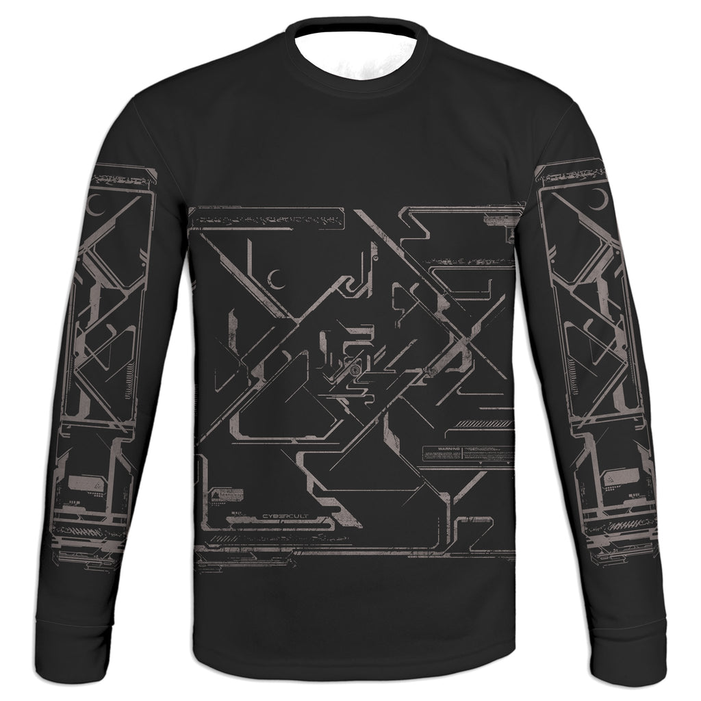 Into Gray Sweatshirt | Cybercult.net