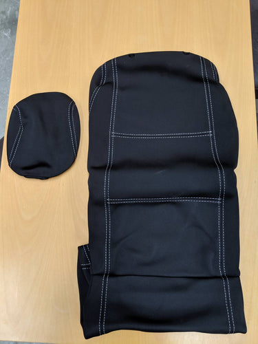 Toyota HiLux MK7 neoprene front seat covers (Open side) Save $75!