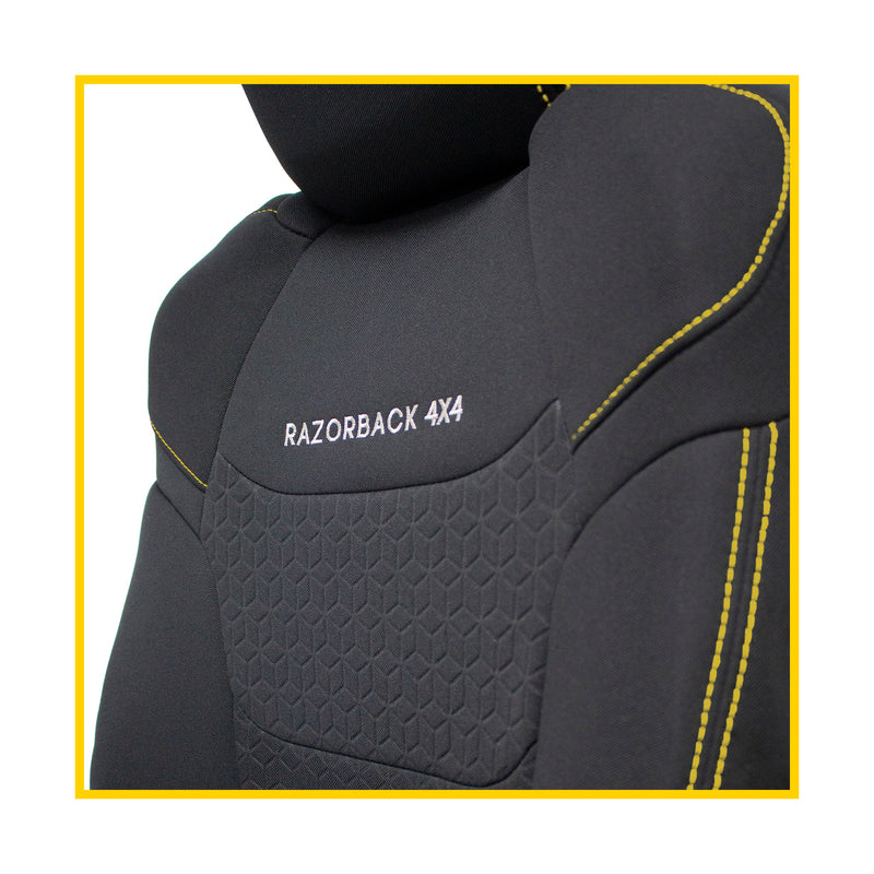 Nissan Pathfinder R51 Premium Neoprene Rear Row Seat Covers (Made to Order)