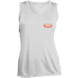 LST352 Sport-Tek Ladies' Sleeveless Moisture Absorbing V-Neck