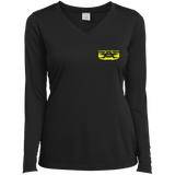 LST353LS Sport-Tek Ladies' LS Performance V-Neck T-Shirt