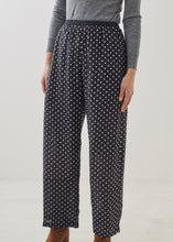 Silk polka dot trousers | Rue Saint Paul