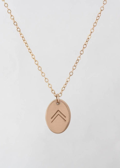 Follow your dreams gold necklace | Conscious Jewelry | Rue Saint Paul