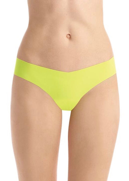 Neon yellow thong undies | Elastic-Free | Rue Saint Paul