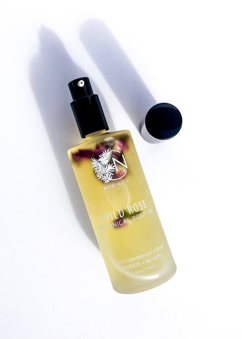 Wild Rose Body Oil | Botanical All Natural | Rue Saint Paul