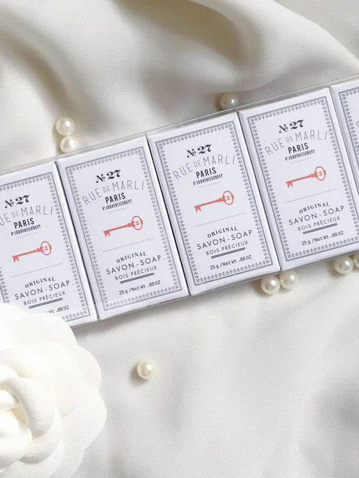 N 27 | Set of 6 guest soaps | Rue Saint Paul