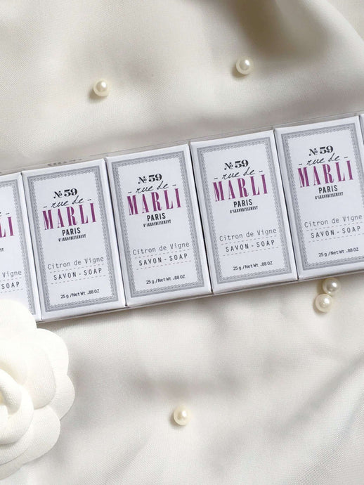 No 59 | Set of 6 guest soaps | Rue Saint Paul