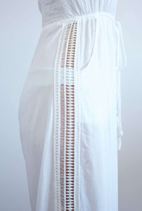 Kali | White jumpsuit | Rue Saint Paul