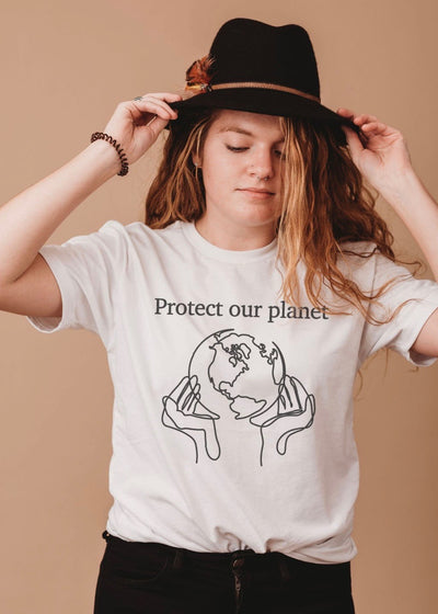 Protect our planet tee | Zero Waste Fashion | Rue Saint Paul