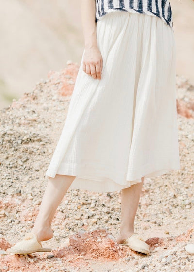 Pedrina | cream wide leg palazzo pant | Rue Saint Paul