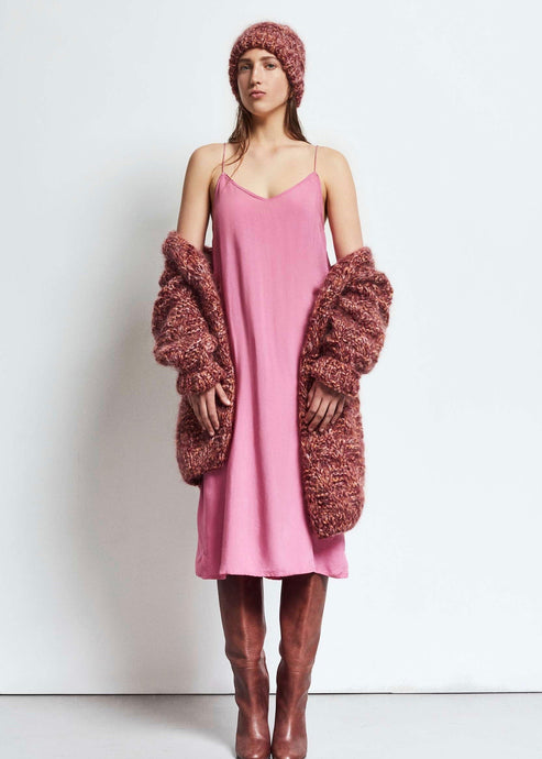 Pink slip dress by Humanoid | Rue Saint Paul