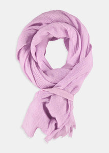 Pink scarf by Humanoid | Rue Saint Paul